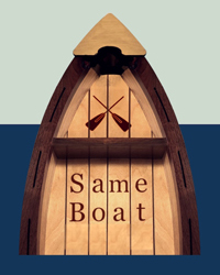poster for Innovator Incubator - Same Boat Theater Collective