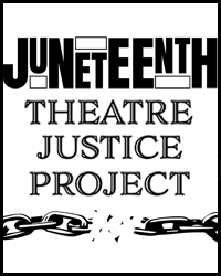 poster for Innovator Incubator - Juneteenth Theatre Justice Project