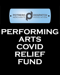 poster for PDMA Performing Arts COVID Relief Fund